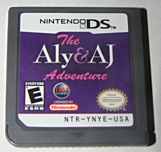 Primary image for Nintendo DS - DSI GAMES - The Aly & AJ Adventure (Game Only)