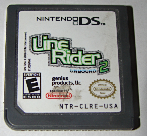 Primary image for Nintendo DS - Line Rider UNBOUND 2 (Game Only)