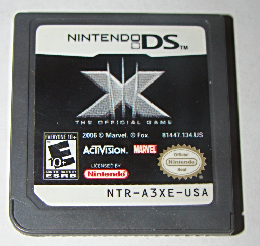 Primary image for Nintendo DS - MARVEL - X THE OFFICIAL GAME (Game Only)
