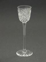 3 American Brilliant Period Cut Glass long stem liquor Antique abp hand blown - $73.52