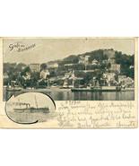 Gruss aus Blankenese 1900 Post Card - $12.00
