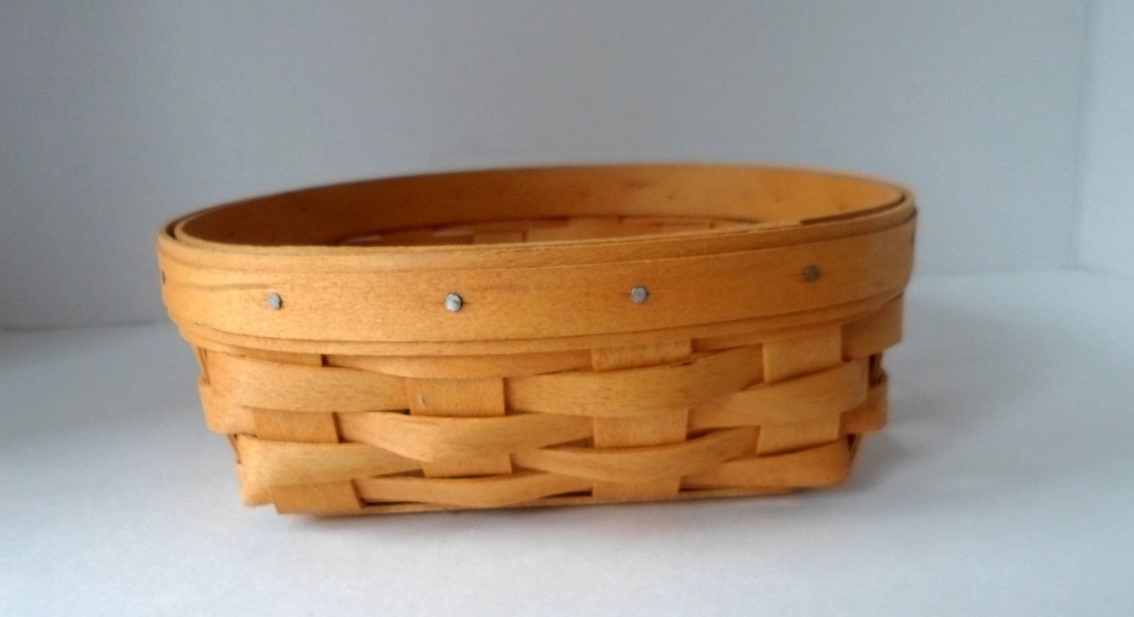 "Primary image for Longaberger Basket  2001"" Small Catch-all Basket"