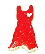Go Red Dress Pin For Women's Heart Disease Awar... - $10.97