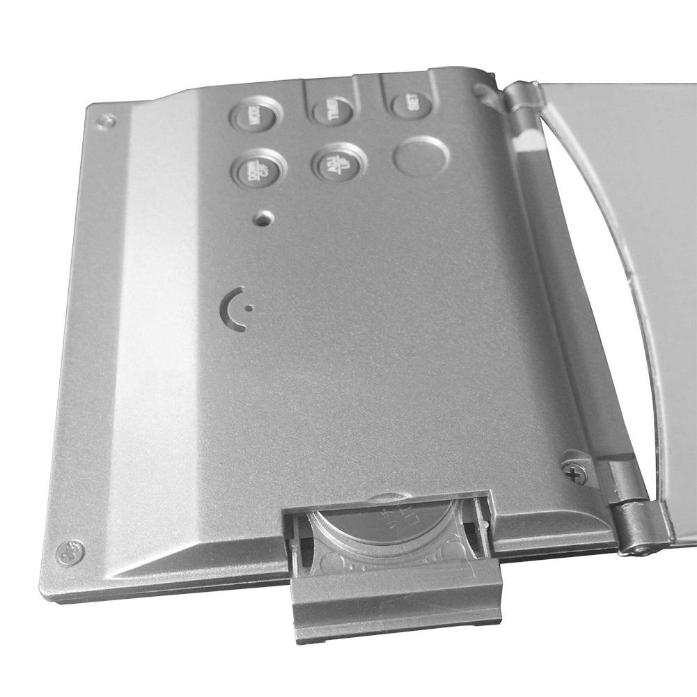 New digital lcd weather station folding desk temperature travel alarm clock fp8