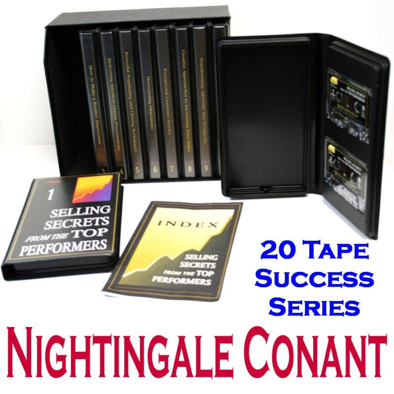 Primary image for SELLING SECRETS From The TOP PERFORMERS 10 VOL 20 TAPES