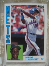 1984 Topps #182 Darryl Strawberry RC Rookie Card NY Mets Mint to Near Mint See - $23.74