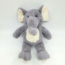 "14"" Best Made Toys Elephant Gray Cream Furry Plush Stuffed Animal Toy Lovey B302 - $19.99"