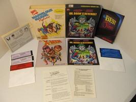 Vintage MARVEL COMICS X-Men MARVELOUS MARVEL MADNESS COMMODORE 64 / 128 ... - $49.95