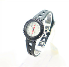Cofram Swiss Made Unisex Watch in Black 1990's Rare Brand New Vintage - $99.95