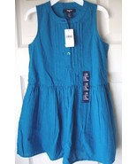 New Gap Kids Girls Sleeveless Gingham Flare Dress Variety Colors & Sizes - $24.99
