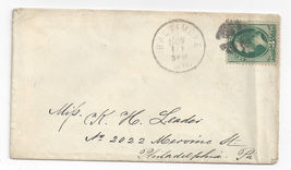 19th Century Baltimore MD to Philadelphia PA Cover Cork Cancel - $4.99