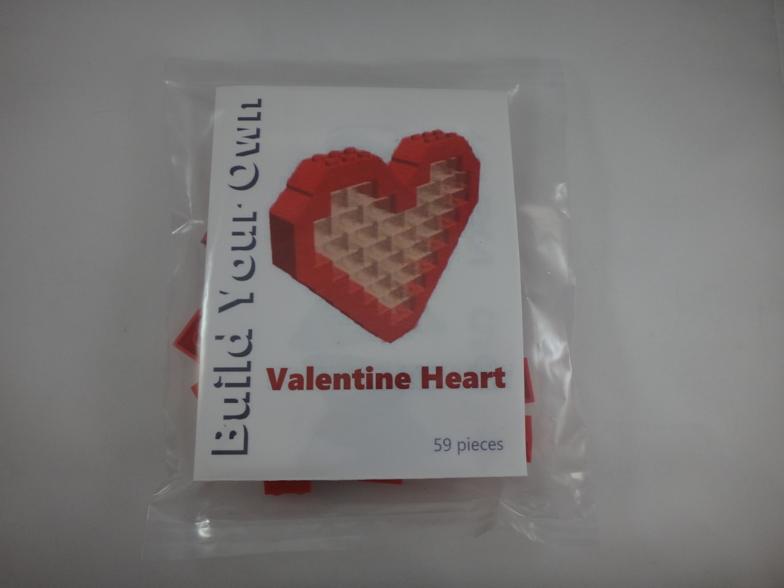 BrickCrafts Build-Your-Own LEGO® Valentine Heart
