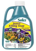Insect Killing Soap Repellent Patio Lawn Garden Safe Control 16 oz Conce... - $32.80