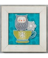 Warm & Wise Winter Cheer owl cross stitch kit D... - $7.20