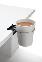 Office Gifts Funky Design Cup Clip Coffee tea chocolate NEW Hang table s... - £11.35 GBP