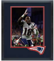 Matthew Slater Celebrates Winning Super Bowl XLIX - 11 x 14 Matted/Framed Photo - $43.55