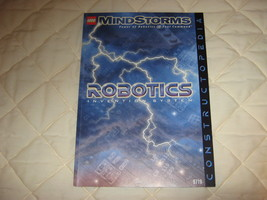 "LEGO  book#9719 ""Robotics Invention Syetem"" - $12.00"