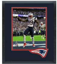 Brandon LaFell Celebrates Touchdown Super Bowl XLIX- 11 x 14 Matted/Framed Photo - $42.95