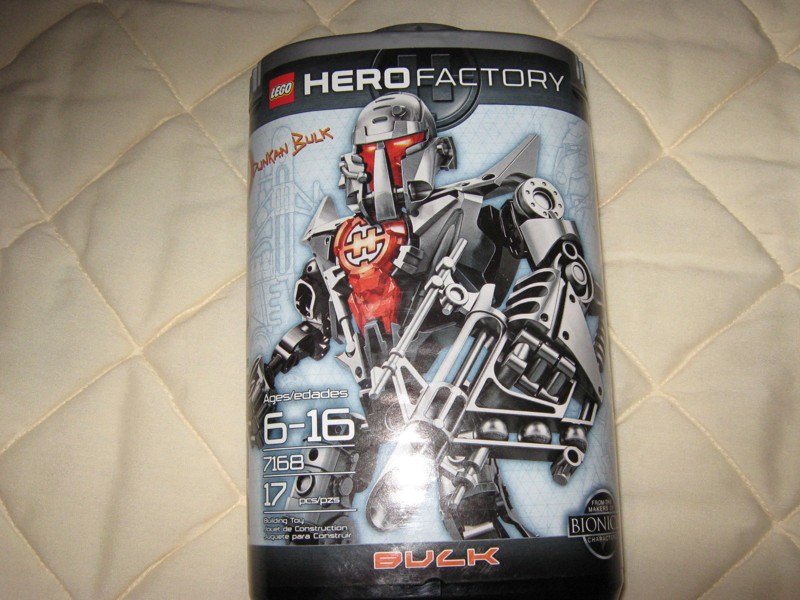 "Primary image for LEGO Bionicle #7168 ,Hero Factory ""Dunkan Bulk"""