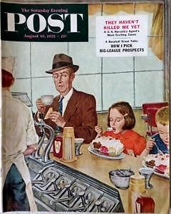 Primary image for The Saturday Evening Post August 16, 1952 - FULL MAGAZINE