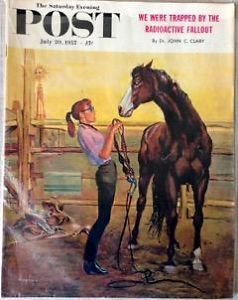 Primary image for The Saturday Evening Post July 20, 1957 - FULL MAGAZINE