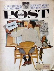 Primary image for The Saturday Evening Post September 16, 1961 - FULL MAGAZINE