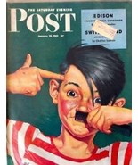 The Saturday Evening Post January 23, 1943 - FULL MAGAZINE - $39.59
