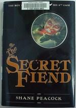The Boy Sherlock Holmes His 4th Case THE SECRET FIEND 1st Print hcdj Pea... - $7.99