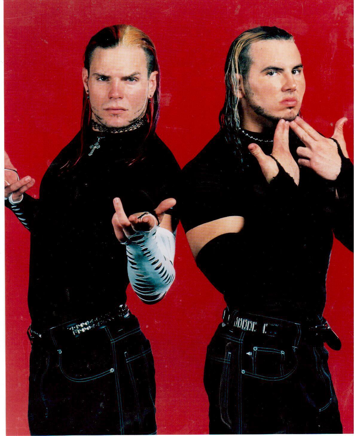 Primary image for Hardy Boyz Vintage 8X10 Color Wrestling Memorabilia Photo