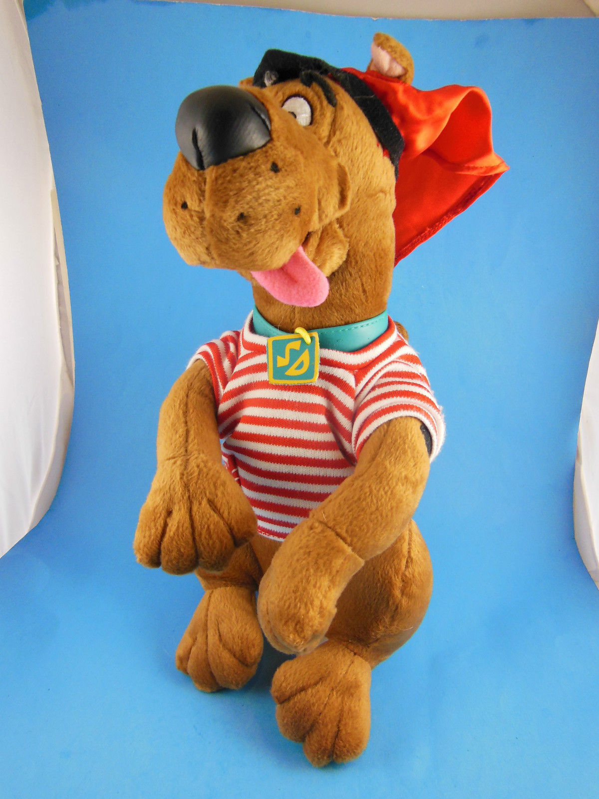 "Primary image for Rare HTF Talking Scooby Doo Pirate Plush 11"" with Eye Patch Applause"