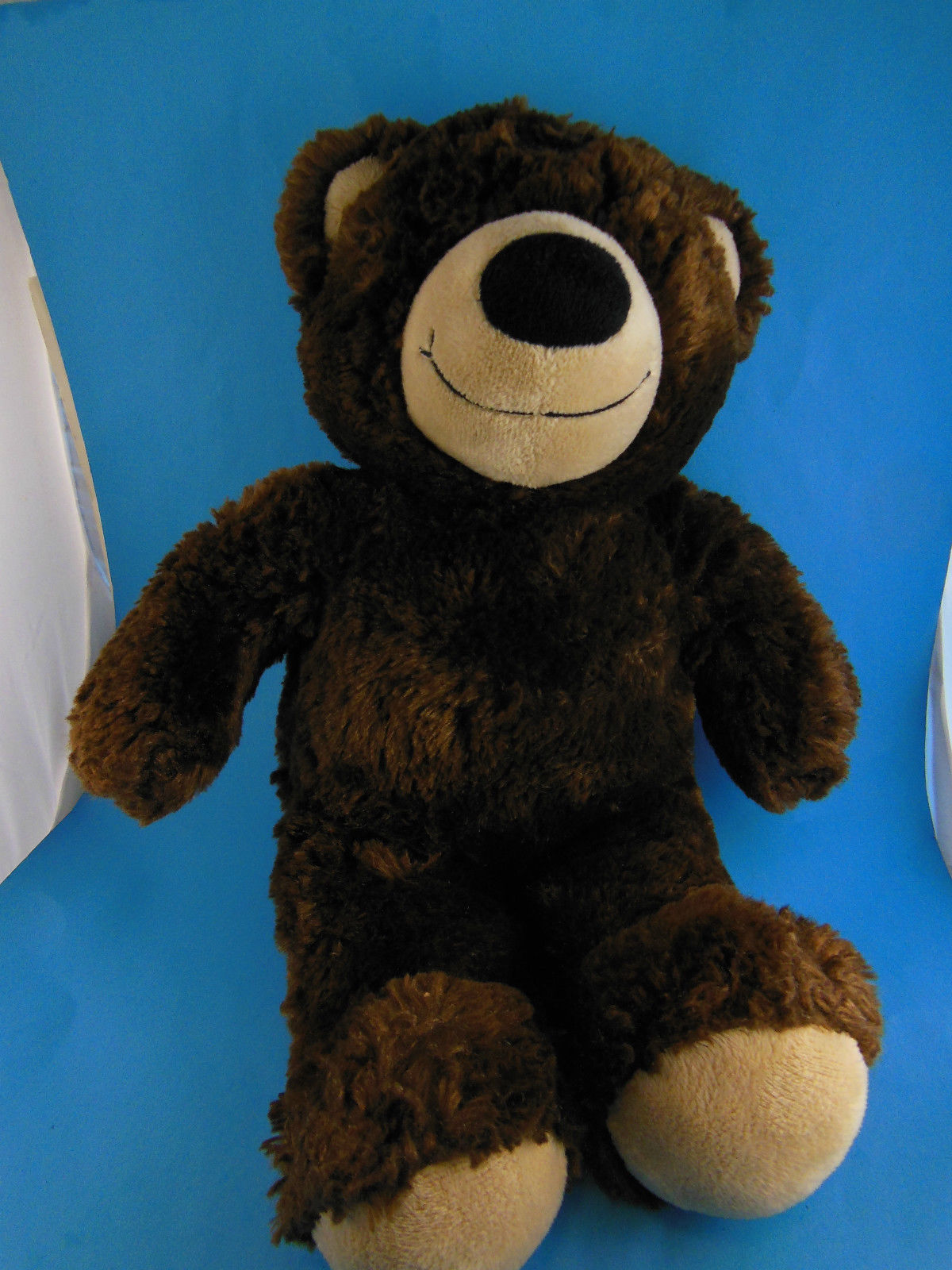 "Primary image for Build a Bear Silky Soft Brown Teddy Bear 15"" Great size for Cuddling"