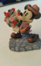 "Mickey Mouse & Flowers Disney Figurine ""My Lovi... - $22.27"