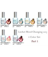 LeChat Perfect Match 2013 Mood Changing Gel Nail Polish 6 Color Set Part 1 - $79.95