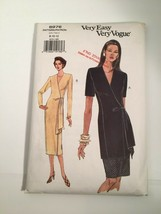 Vintage Vogue Sewing Pattern 8976 Size 8 10 12 Dress Skirt 1994 NEW OLD ... - $9.31