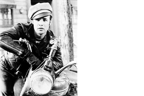 Primary image for The Wild One Motorcycle Marlon Brando Vintage 16X20 BW Movie Memorabilia Photo