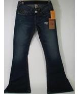True Religion Jeans Sz 27 Raegan Skinny Flare Reclaimed Rancher Wash NWT... - $193.99