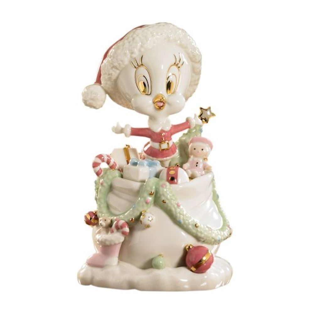 Lenox Christmas Tweety 39 S Holiday Gifts Galore Figurine