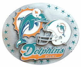 Miami Dolphins Belt Buckle image 2