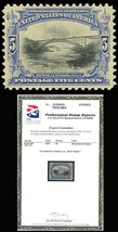 297, Mint 5c - XF OG NH GEM QUALITY WITH PSE CERTIFICATE - $280.00