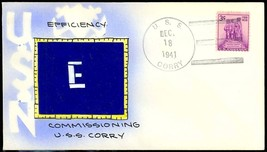 USS CORRY DD-463 Destroyer - Mae Weigand Hand Painted 1st Day Commission Cancel - $19.95
