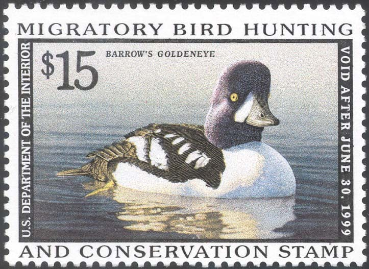 RW65, DUCK STAMP VF OG NH - LOW PRICE!