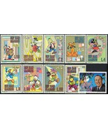 1st OFFICIAL DISNEY SET ISSUED  SAN MARINO 736-45 VF NH - $7.50