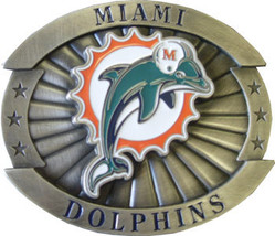 Miami Dolphins Belt Buckle (Oversize) image 2