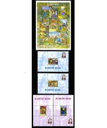 CONGO SNOW WHITE SHEETLET OF 9 & 4 SOUVENIR SHEETS - $42.00