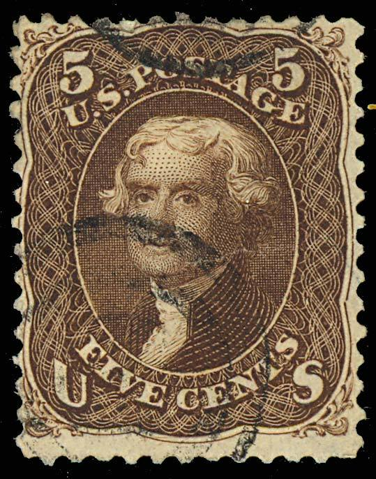 95, Used 5c FINE - LOW PRICE! Cat $900.00 image 2