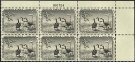 RW25, Mint XF NH DUCK PLATE BLOCK A GEM Cat $600.00 - $400.00