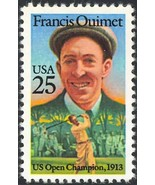 2377, 192 COPIES MINT NH VF FRANCIS OUIMET - GOLFER - $54.00