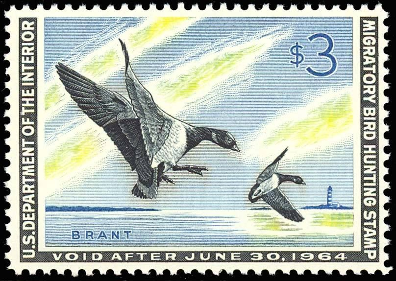 RW30, Mint DUCK STAMP - VF OG NH - NO GUM SKIPS OR BENDS Cat $115.00+