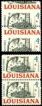 1197, Misperforation Dramatic ERROR Pair - 4¢ Louisiana - Mint NH -  Stuart Katz image 2
