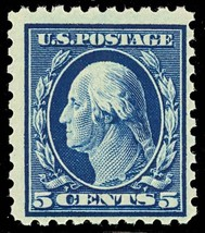 428, Mint 5¢ F-VF OG NH --- POST OFFICE FRESH! Cat $75.00 - $35.96